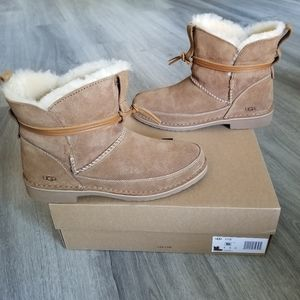 UGG Esther Water-resistant Suede Boot.